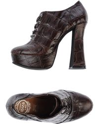 Jeffrey Campbell Brown Laceup Shoes - Lyst