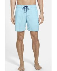 Zachary Prell 'Borely' Gingham Check Swim Trunks - Lyst