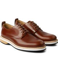 Want Les Essentiels De La Vie Montoro Polished-Leather Derby Shoes - Lyst