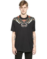Givenchy Colombian Fit Butterfly Cotton T-shirt - Lyst