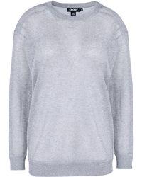 DKNY Long Sleeve Sweater - Lyst