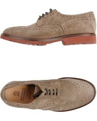Brunello Cucinelli Lace-up Shoes - Natural