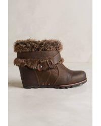 Sorel Joan Of Arctic Wedge Boots - Lyst