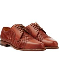 Ludwig Reiter Leather Lace-Ups - Lyst