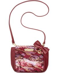 Betsey Johnson Macys Exclusive Crossbody - Lyst