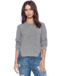 Autumn Cashmere Shaker Stitch Sweater - Lyst