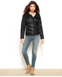 e941945a3 Point-Collar Packable Puffer Coat - Black
