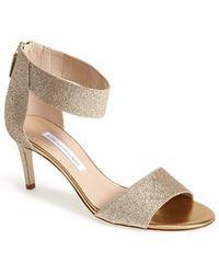 Diane von Furstenberg 'Kinder' Ankle Strap Sandal - Lyst