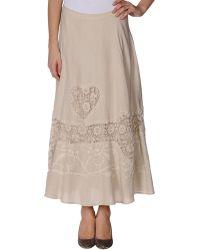 Twin-set Simona Barbieri Long Skirt - Lyst