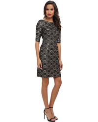 Eliza J 34 Sleeve Shift Dress - Lyst