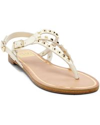 DV by Dolce Vita Flat Thong Sandals - Rosario Studded - Lyst