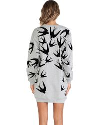 McQ by Alexander McQueen Classic Sweatshirt Dress - Lyst