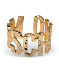 Moschino Gold Bracelet - Lyst