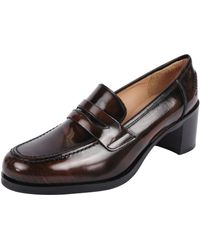 Pascucci | Patent Heel Loafer | Lyst