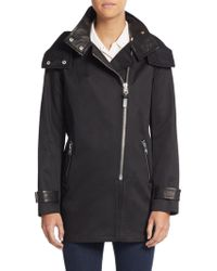 Mackage Darby Leather-Trimmed Jacket - Lyst