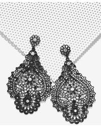 Nasty Gal | Sleepless Nights Chandelier Earrings | Lyst