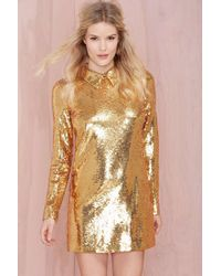 Nasty Gal Impulse Sequin Dress - Lyst