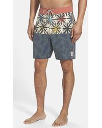 Vans Men'S 'Gregg Kaplan' Board Shorts - Lyst