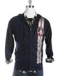 Lucky Brand - Fullzip Cobra Stripe Hoodie - Lyst