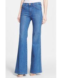 Current/Elliott 'The Girl Crush' Flare Leg Jeans - Lyst