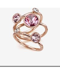 Ted Baker - Jewel Cluster Ring - Lyst