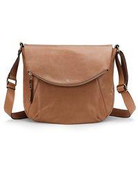 Elliott Lucca - Carine Leather Saddle Bag - Lyst