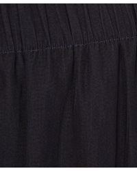 Lanvin - Navy Relaxed Satin Pyjama Trousers - Lyst