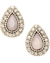Samantha Wills 'endless Love' Stud Earrings - Lilac - Pink