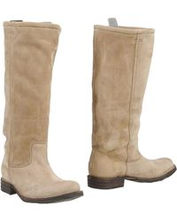 Fiorentini + Baker Beige Boots - Lyst