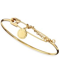 Marc By Marc Jacobs Safety Pin Bracelet - Lyst
