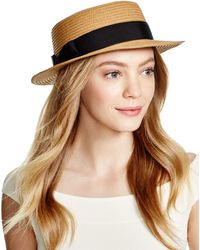 Genie by Eugenia Kim Packable Tess Boater Hat - Brown