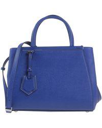Fendi Under-Arm Bags blue - Lyst