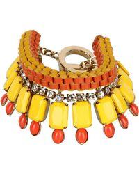 Vionnet Bracelet yellow - Lyst