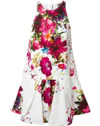 Isola Marras - Flared Floral Print Dress - Lyst
