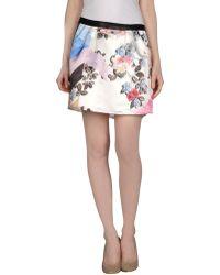 Paprika - Mini Skirt - Lyst