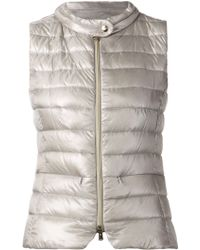 Herno Quilted Gilet - Lyst