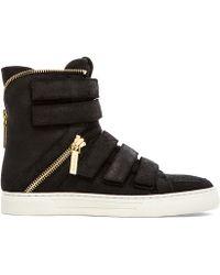 Balmain Sneaker In Black - Lyst