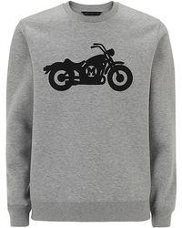 Marc By Marc Jacobs Motorcycle Print Sweatshirt - Lyst