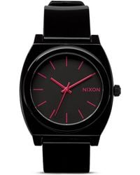 Nixon The Time Teller Buckle Strap Watch 40mm - Lyst