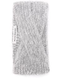 White + Warren | Cashmere Headband | Lyst