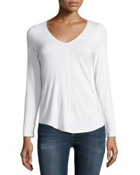 Todd And Duncan - V-neck Center-seam Sweater - Lyst