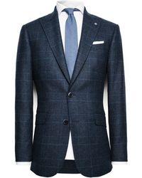 Mango Wool Blend Suit Blazer - Lyst