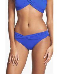 Seafolly Goddess Hipster Bikini Bottoms blue - Lyst