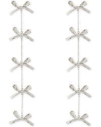 Tuleste 5-tier Bow Earrings - Lyst