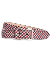 Brooks Brothers Navy and Red Belt - Lyst