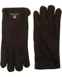 GANT - Wool Touch Screen Fleece Lined Glove - Lyst
