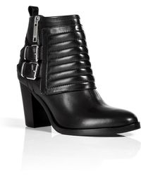 Burberry Hirshel Quilted Ankle Booties - Lyst