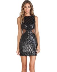 Dress The Population Black Blake Dress - Lyst