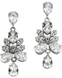 Mews London - Reverse Cluster Drop Earrings - Lyst