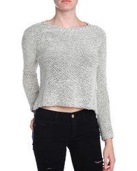 Bella Luxx Raglan Crop Sweater - Lyst